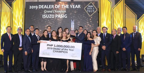 Isuzu Philippines recognizes best sales and service performers in 2019 DOYA image