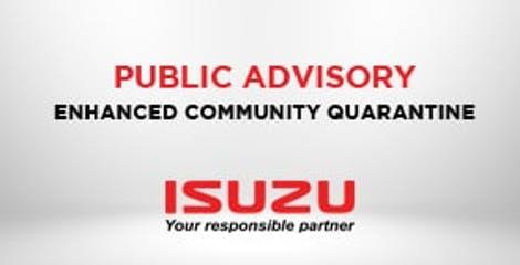 COVID-19 Luzon Dealer Closure Advisory image