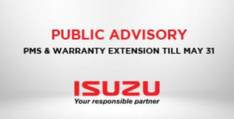 Public Advisory - Warranty Coverage Update image
