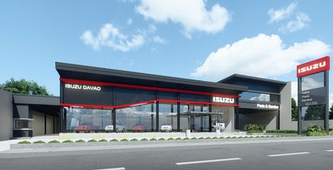IPC's Isuzu Outlet Standardization closer to realization with  Davao showroom groundbreaking image
