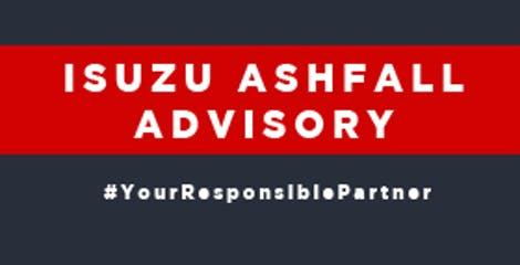 Isuzu Ashfall Advisory image