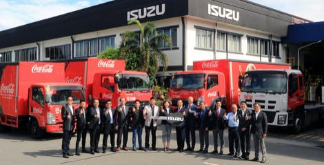 Coca-Cola and Isuzu partner to champion safety and sustainability in fleet operations thumbnail